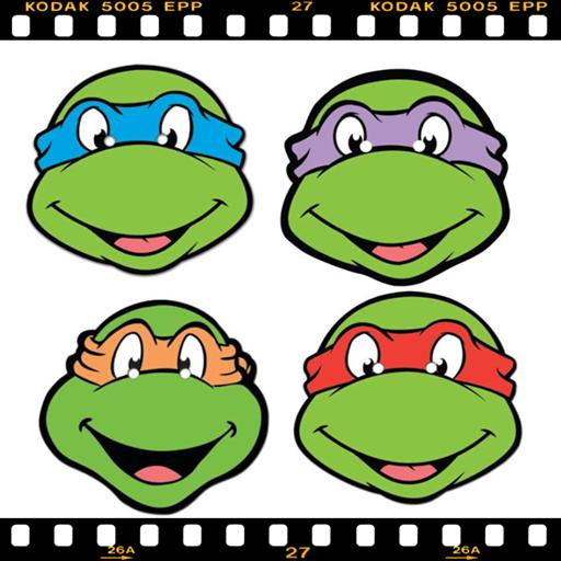 ninja turtle puzzle games LOGO-APP點子