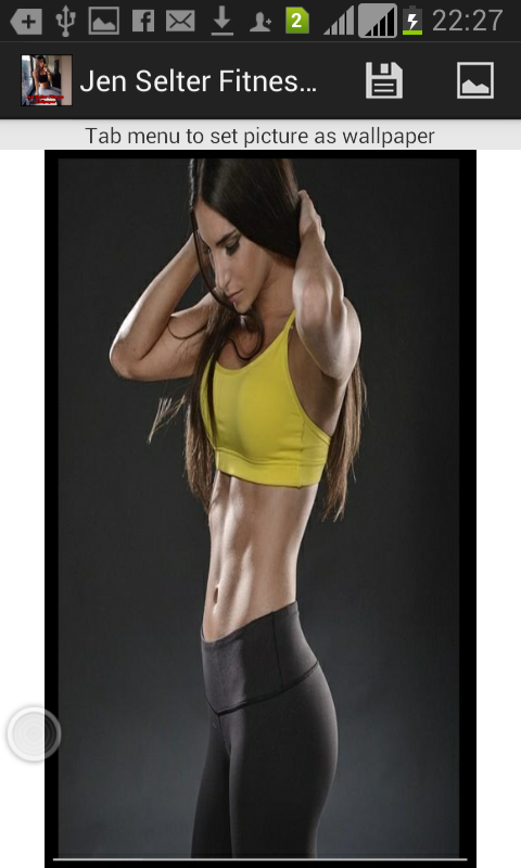 Jen Selter Fitness Wallpaper - screenshot
