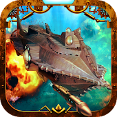 Steampunk Submarine Battle