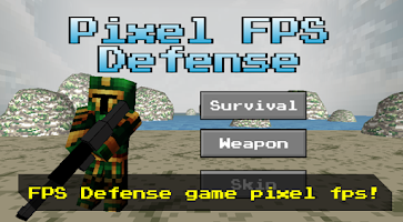 Screenshot of Pixel FPS - Gun Defense