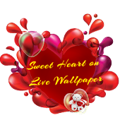 Sweet Heart on Live Wallpaper