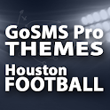 GoSMS Houston Football Theme icon