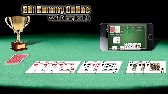 Gin Rummy Online FULL- screenshot thumbnail