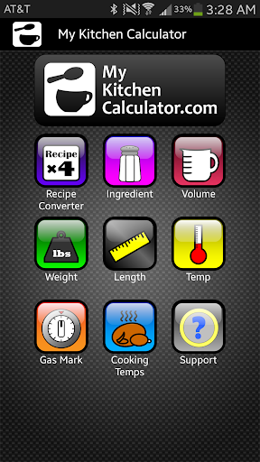Kitchen Calculator Converter
