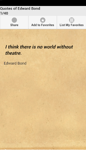 Quotes of Edward Bond