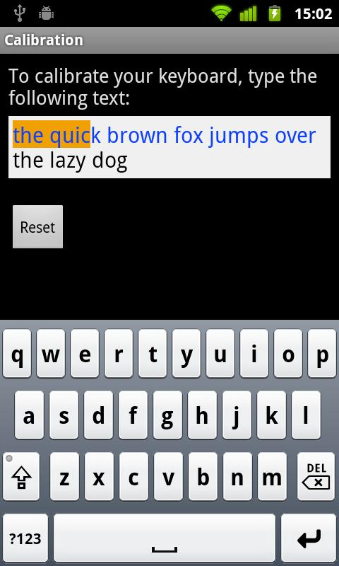 Dutch for Smart Keyboard - screenshot