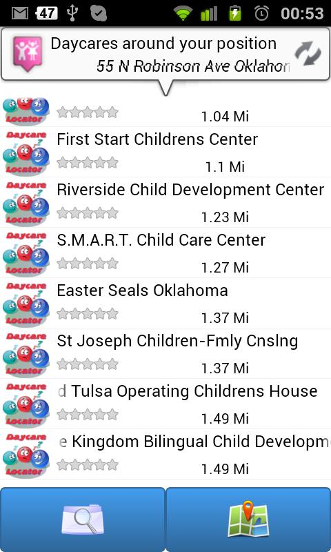 Ur Daycare Locator- screenshot