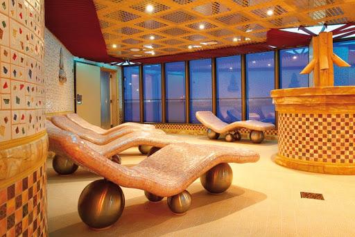 Costa-Deliziosa-Samsara-Spa - Amenities at Costa Deliziosa's Samsara Spa include baths, sauna and treatment rooms.