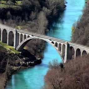 Bridge -Solkan, Slovenija by Ana France - Buildings & Architecture Bridges & Suspended Structures