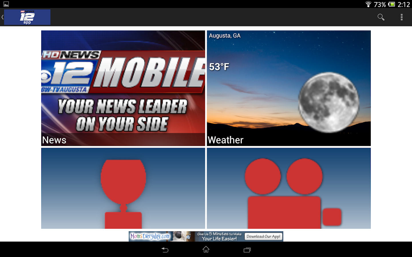 WRDW News 12 - screenshot