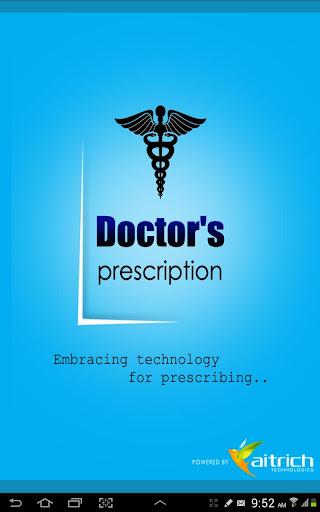 醫生編寫的應用程序