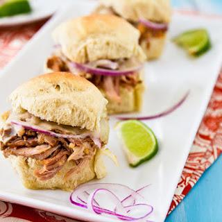 Cuban-Style Pulled Pork Sliders.