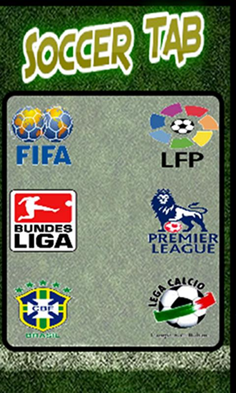 Soccer Tab (Football) - screenshot
