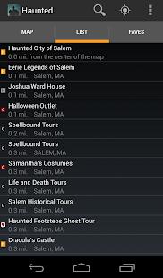 Haunted Houses & Ghost Tours screenshot