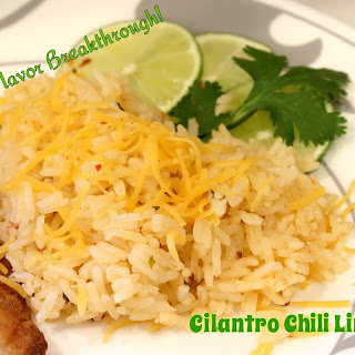 Cilantro Chili Lime Rice!