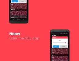 Screenshot of Hearts Live Wallpaper Free