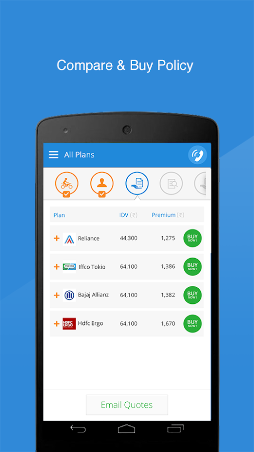 Policybazaar - Compare Online - Android Apps on Google Play