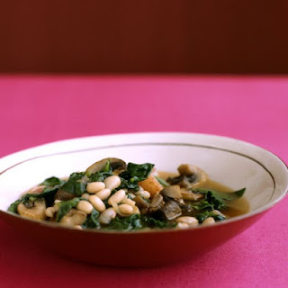Quick Vegetable and Navy-Bean Stew.