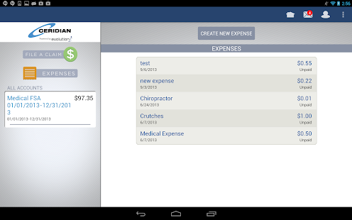 Ceridian Benefits Mobile- screenshot thumbnail