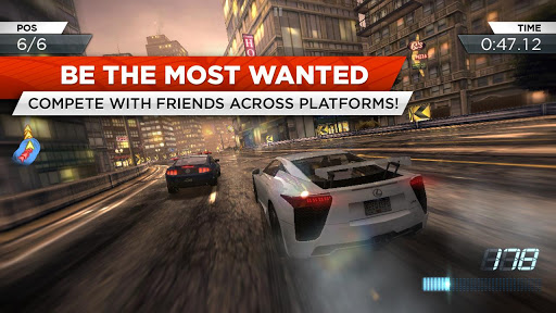 Need for Speed™ Most Wanted game for Android screenshot