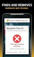 Screenshot of Norton Security and Antivirus