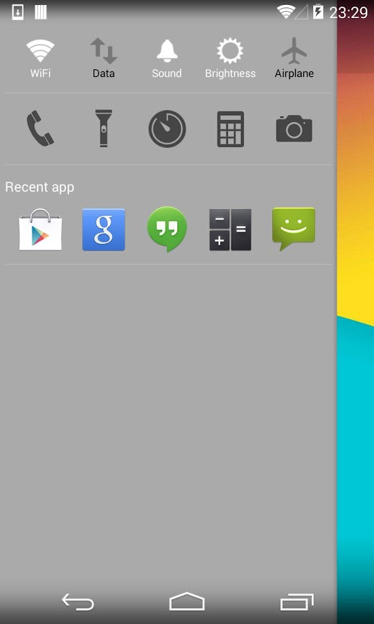 KK Launcher  (KitKat Launcher) - screenshot