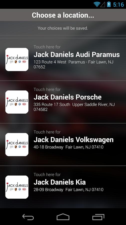 Jack Daniels Motors Dealerapp Google Play 39 De Android