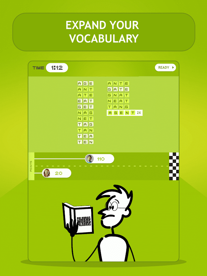 Letroca Word Race- screenshot