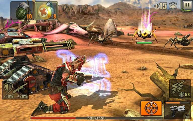 android Evolution: Battle for Utopia Screenshot 21