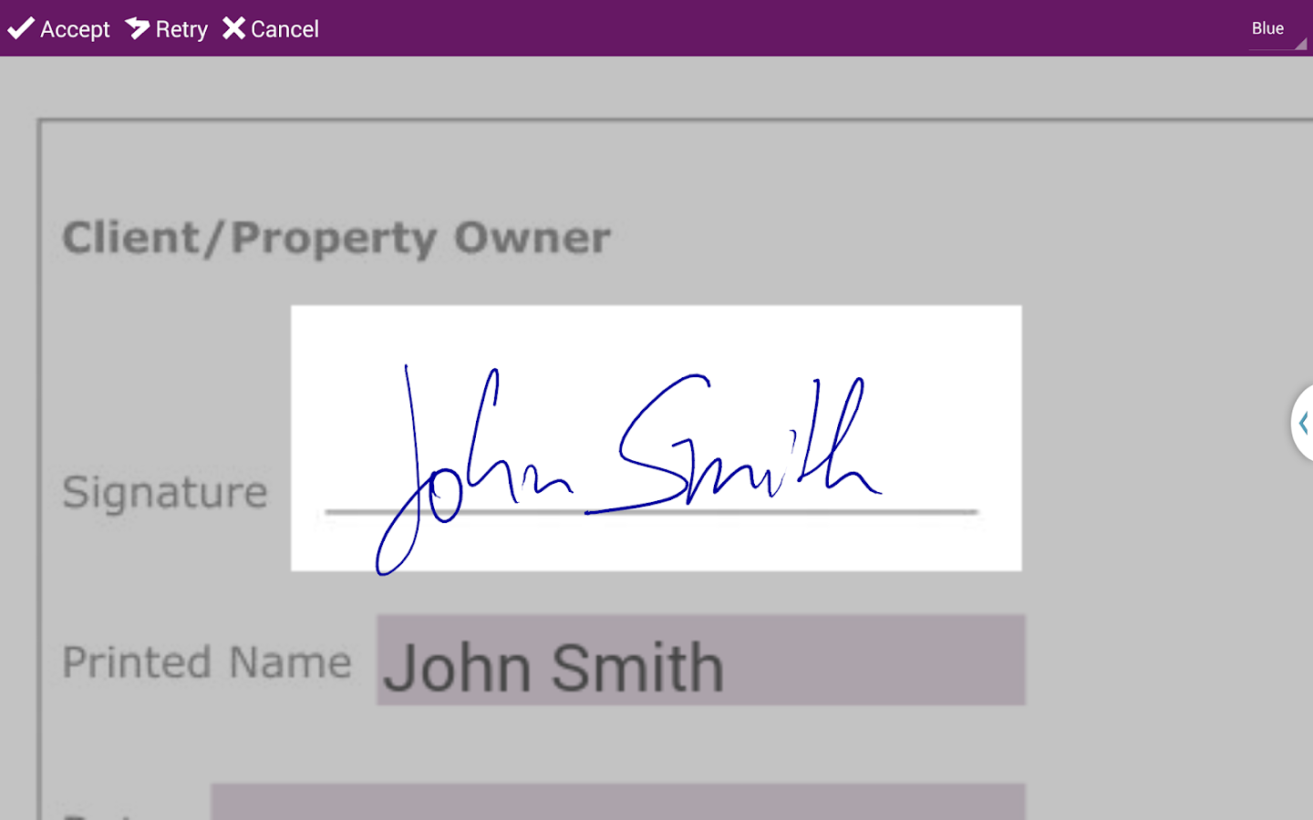 SIGNificant E-Signing Client- screenshot