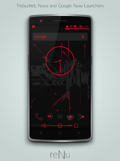 reNu Lust Red Theme CM11