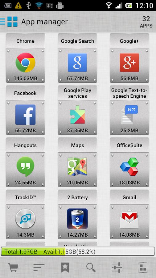 AppMgr III (App 2 SD) - screenshot