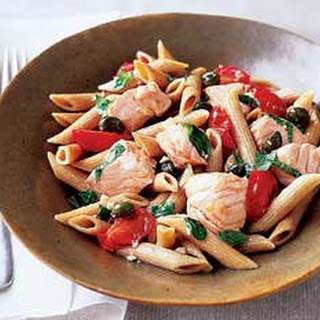 Salmon and Herb Penne
