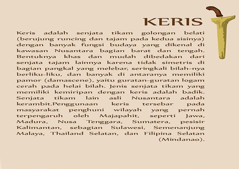 Game keris dalam budaya Jawa - screenshot