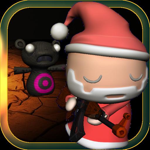 泰迪聖誕老人:3D惡夢 動作 LOGO-玩APPs