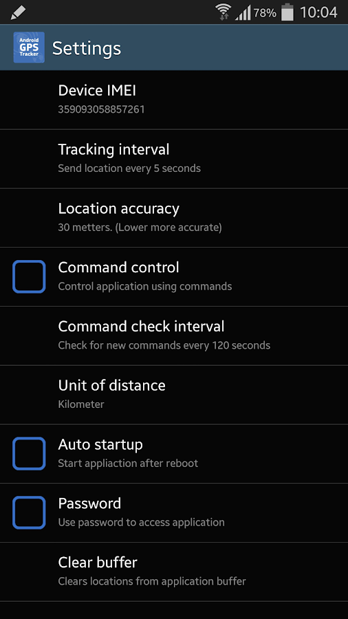 GPS Tracker Hidden - screenshot