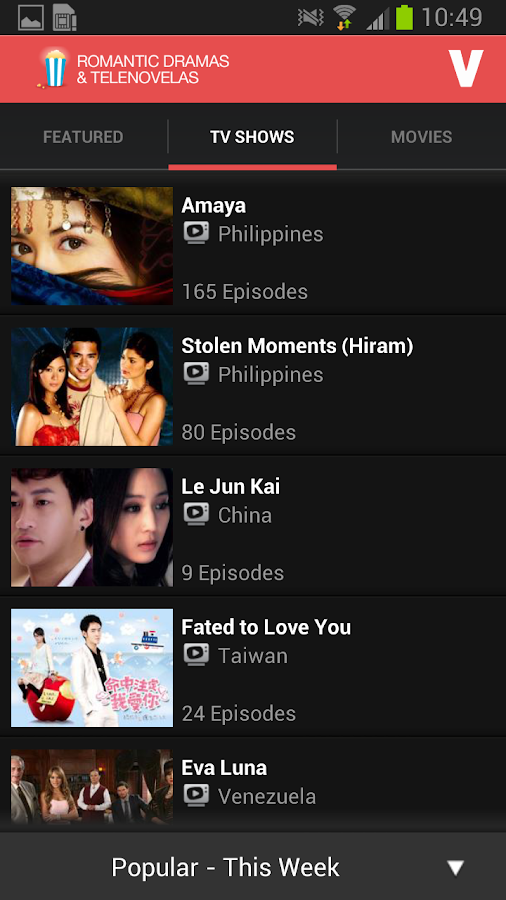Free TV Dramas and Telenovela - screenshot