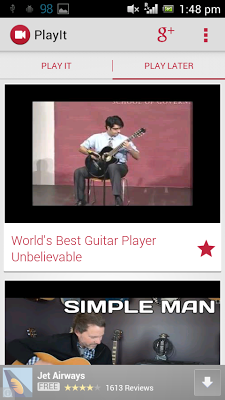 PlayIt - screenshot