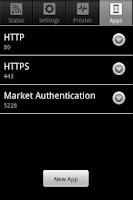 Screenshot of ASProxy