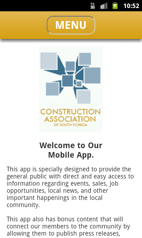 Construction Association of SF- screenshot