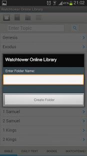 Watchtower Online Library App - screenshot thumbnail