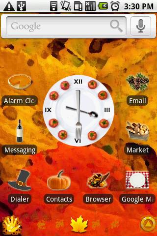 OG Thanksgiving Theme - screenshot