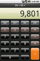 Screenshot of Calculator Free