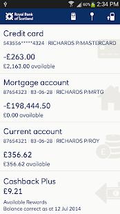 Royal Bank, RBS - screenshot thumbnail