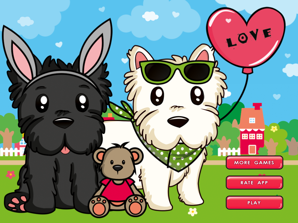 Dress Up! Cute Puppies- screenshot