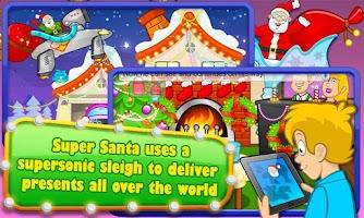 Screenshot of Super Santa XMAS Story & Games
