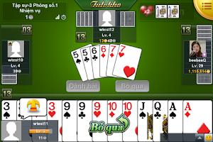 Screenshot of Ongame Tiến Lên (game bài)