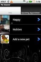 Screenshot of Pet Master Pro
