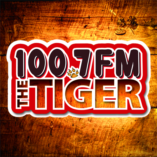 100.7 The Tiger WTGE FM LOGO-APP點子