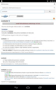 免費西班牙語字典-